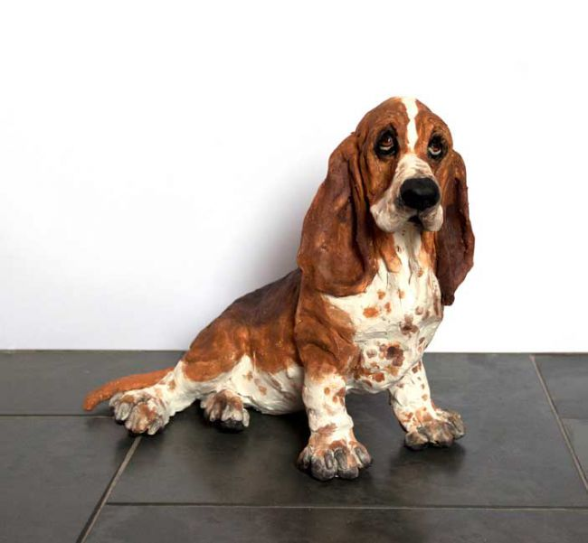 Louise Brown, Bassett Hound (no delivery available)
