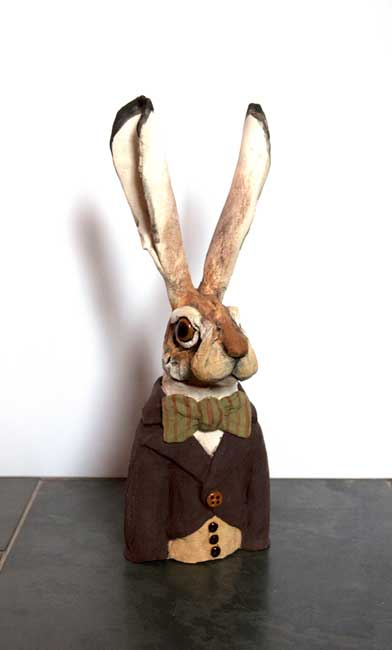 Louise Brown, Hare Bust (no delivery available)