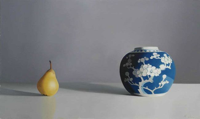 Michael de Bono, Spice Jar With Pear