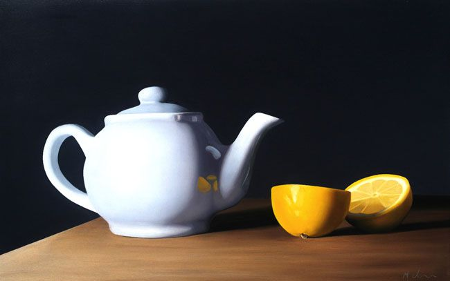 Michael de Bono, Teapot With Lemon