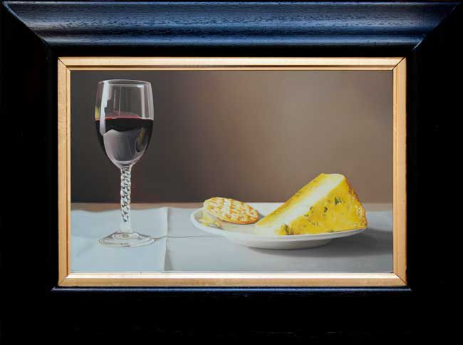 Michael de Bono, Wine With Stilton