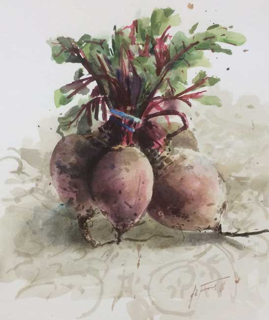 Andrew Douglas-Forbes, Bunched-up Beetroot