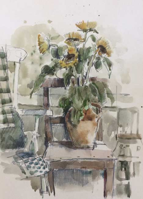 Andrew Douglas-Forbes, Painting Chair