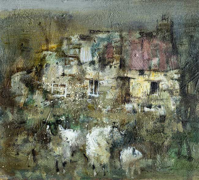 Andrew Douglas-Forbes, Sheep At Tyncoed