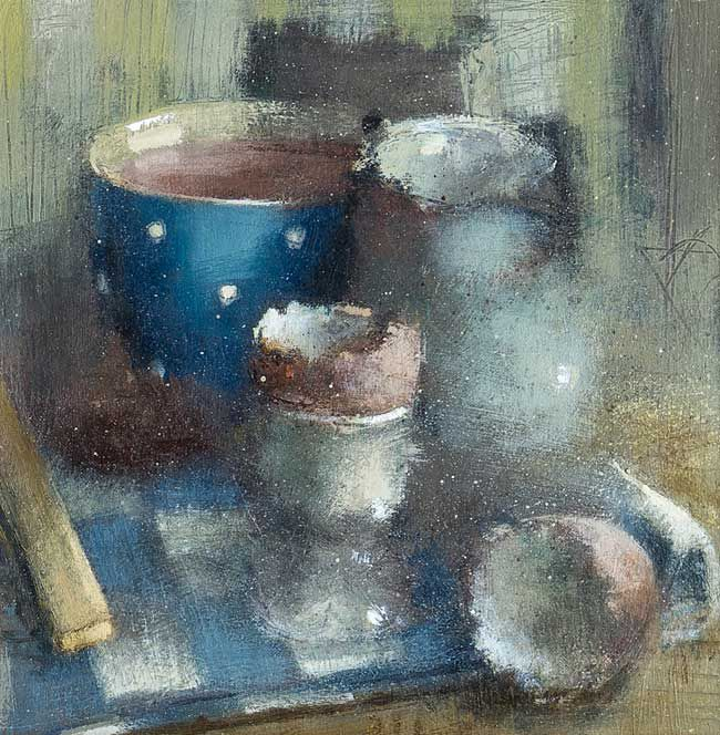 Andrew Douglas-Forbes, Spotty Tea Cup