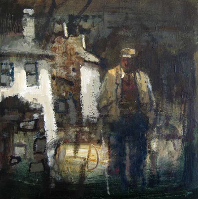 Andrew Douglas-Forbes, Storm Light, Laugharne