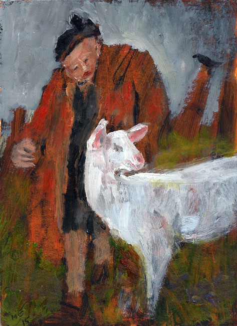 Mary Edwards, Woman With A Goat