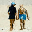Alastair Elkes-Jones, Conversation On A Beach