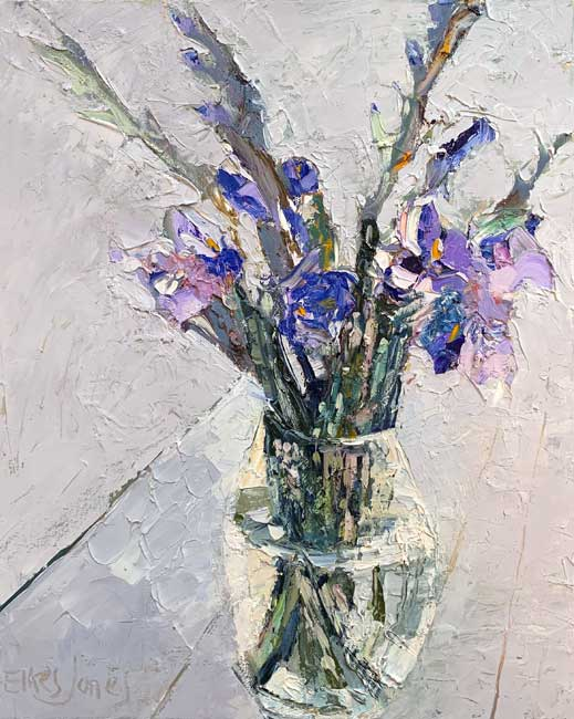 Alastair Elkes-Jones, Purple On White