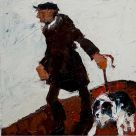 Alastair Elkes-Jones, Shepherd And Dog