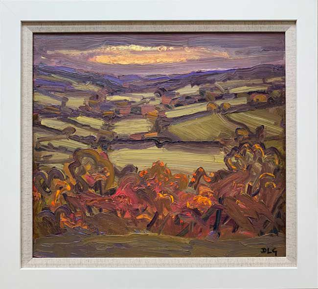 David Lloyd Griffith, Autumn Sunset, Dyffryn Dulas