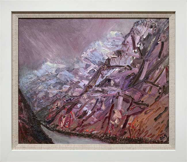 David Lloyd Griffith, Mountain Weather, Nant Peris