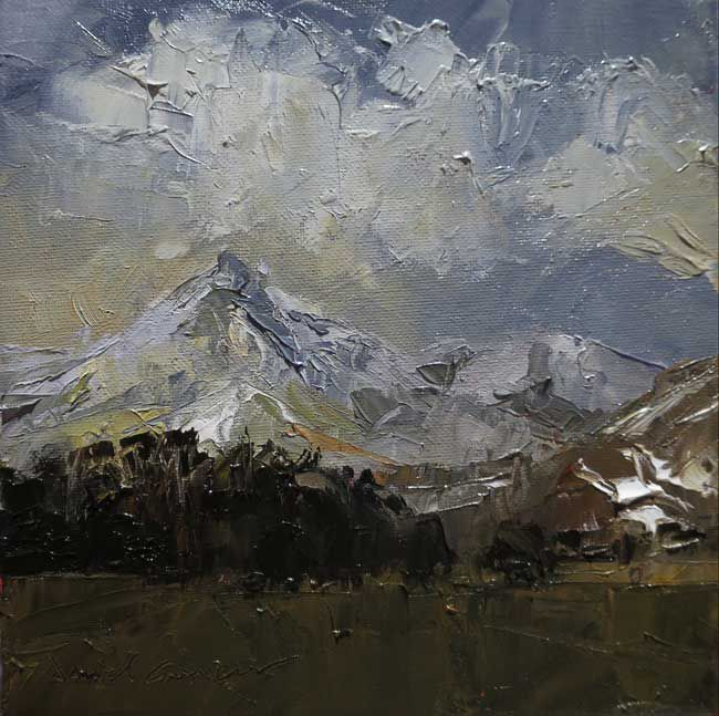 David Grosvenor, Cnicht, Winter