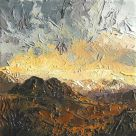 David Grosvenor, Evening Light Over The Glyders