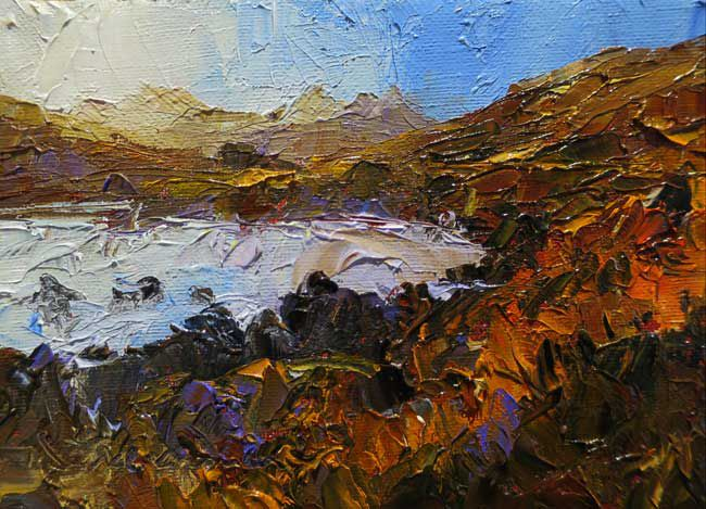 David Grosvenor, Snowdon From The Llynnau Mymbyr I