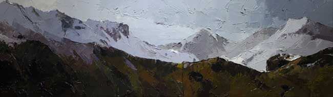 David Grosvenor, Snowdon In Winter
