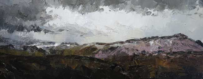 David Grosvenor, Winter Over Siabod And The Glyders