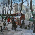 Nick Holly, Book Sellers Along The Seine