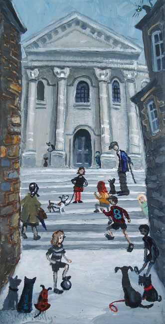 Nick Holly, Chapel Steps, Carmarthen