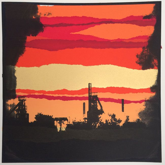 Sarah Hopkins, Port Talbot X (unframed)