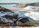 Rowan Huntley, Pennard Pill, Snow