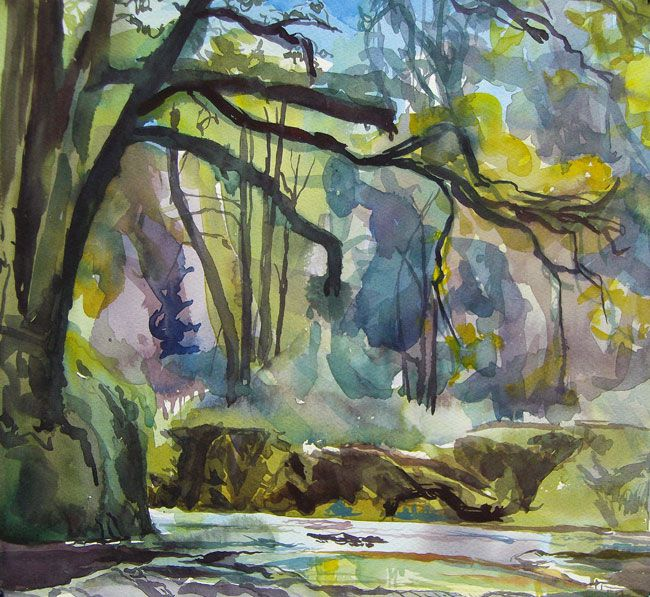 Duncan Johnson, Middle Of Summer, Afon Cothi