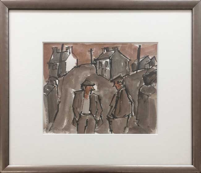 Mike Jones, Figures In Street, Cwmtawe 4
