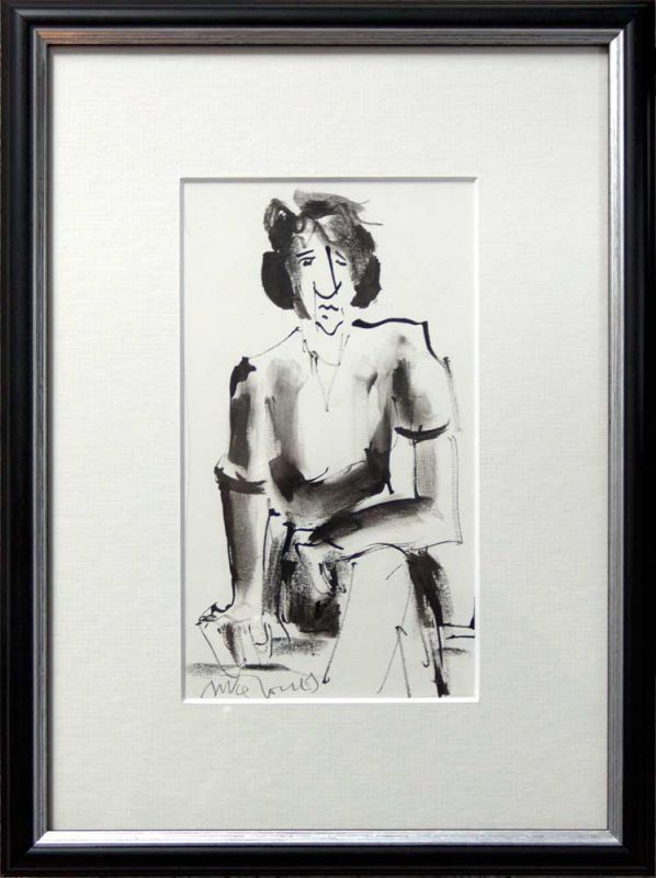 Mike Jones, Seated Lady