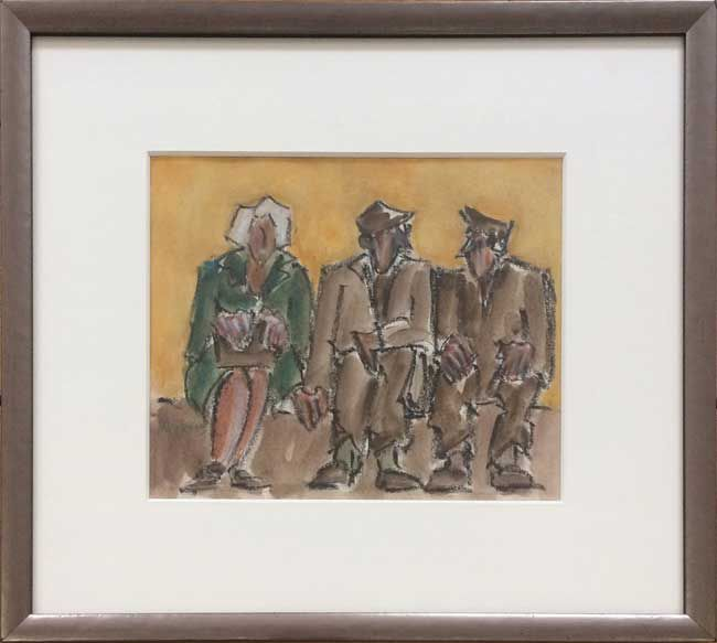 Mike Jones, Three Figures, Seated
