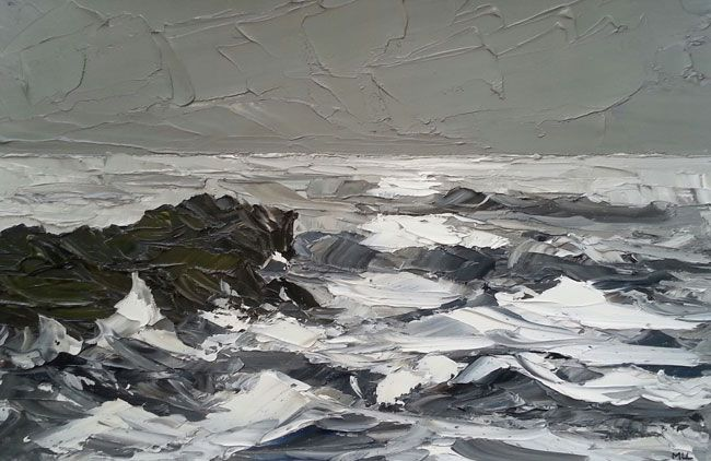 Martin Llewellyn, Rough Sea, Anglesey