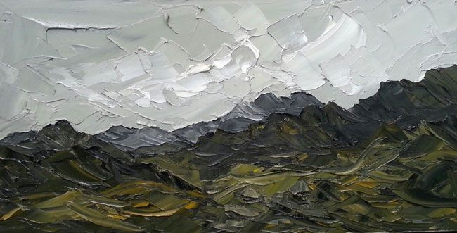 Martin Llewellyn, Snowdonia From The East