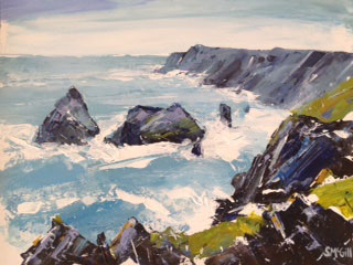Sian McGill, Kynance Cove