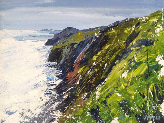 Sian McGill, St David's Head