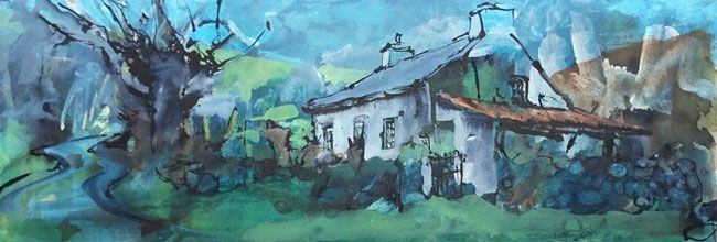 Shirley Anne Owen, Cottage, Gyrn Goch
