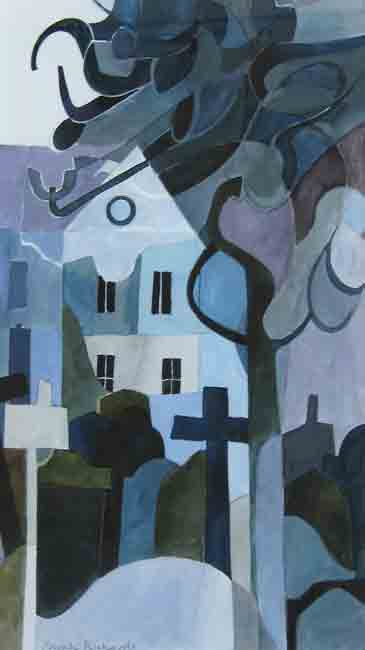 Sarah Richards, Bank Terrace, Moonlight