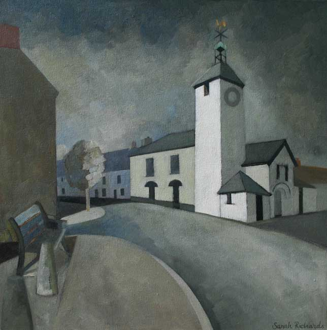 Sarah Richards, Clock Tower, Laugharne