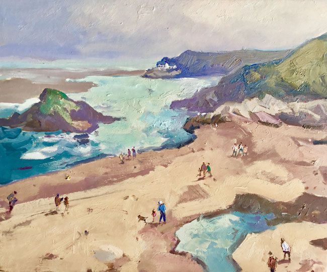 Gareth Thomas, Beach Near Borth y Gest