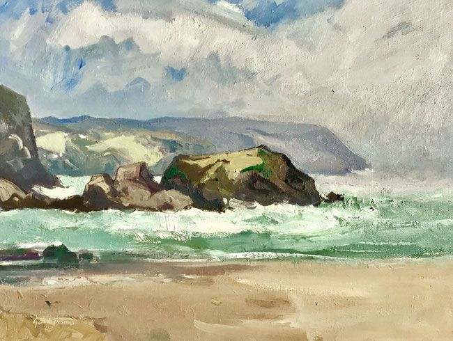 Gareth Thomas, Clearing Sky, Tresaith