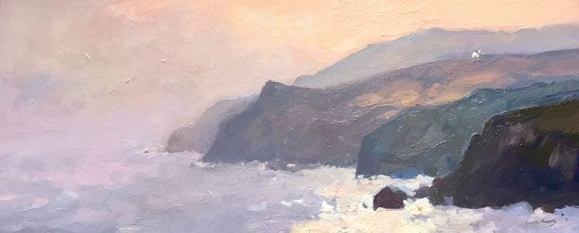 Gareth Thomas, Evening Near Aberdaron