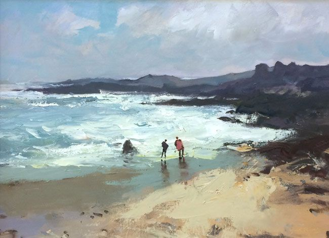 Gareth Thomas, Figures, Full Tide, Port Eynon