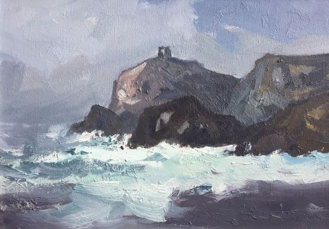 Gareth Thomas, Full Tide, Abereiddy
