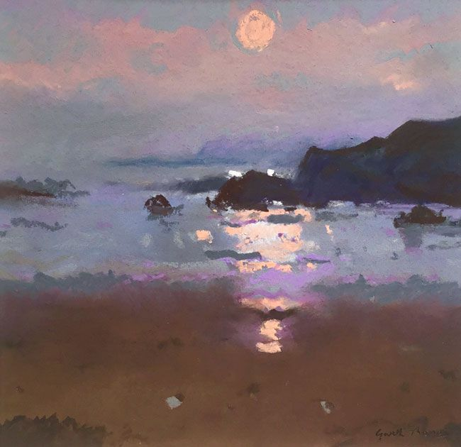 Gareth Thomas, Sunset, Trearddur Bay