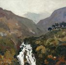 Gareth Thomas, Waterfall, Watkin Path