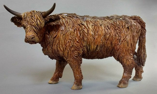 Sallie Wakley, Highland Cow