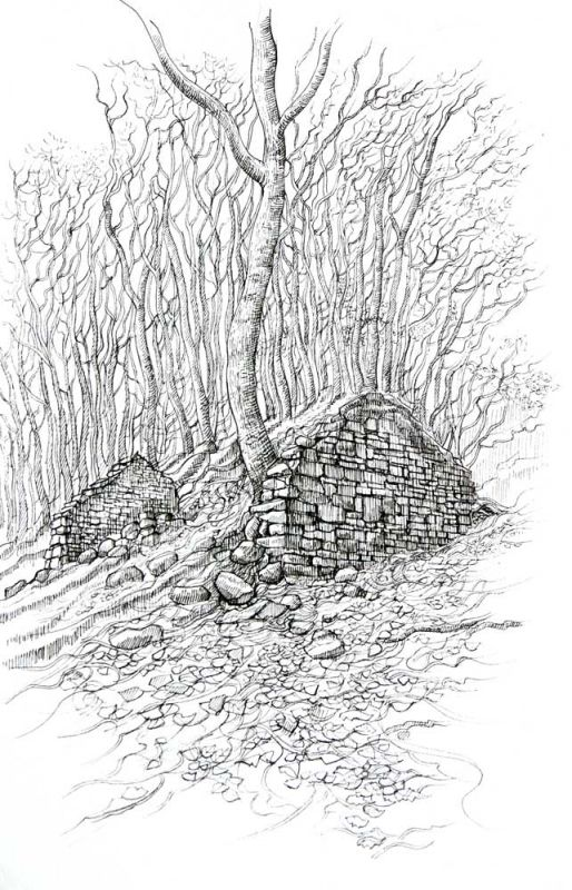 Philip Huckin, Bwthyn y Wrach (The Witch's Cottage)